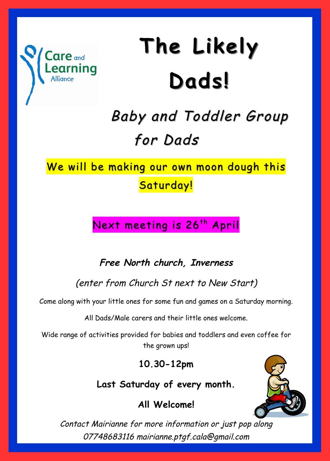 moon dough   the likely dads   fun this saturday in inverness